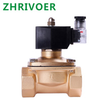 IP65 fully enclosed coil, AC220V DC12V DC24V, G3/8 G1/2 G3/4 G1 G1-1/4 G1-1/2 Normally closed solenoid valve water valve am4961gh g1