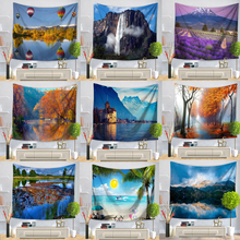 Tapestry Beauty Sea Beach Landscapes Wall Hanging Tapestries Home Decor Rectangle Bedroom Wall Art Tapestry Home Decor