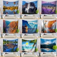 Tapestry Schoonheid Zee Strand Landschappen Muur Opknoping Wandtapijten Home Decor Rechthoek Slaapkamer Muur Art Tapijt Home Decor