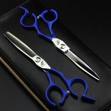 6 inch Professional 6 inch Hairdressing Scissors Set,Hair Cutting Scissors&Thinning Scissors Barber Shears