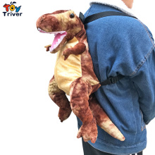 Hot New T-Rex Dinosaur Backpack Shoulder School Bag Plush Toys Stuffed Doll Kids Children Boys Girls Student Birthday Gift