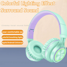 PICUN Wireless Headphones Bluetooth HiFI Stereo Headphone Foldable Headset LED Light Earphones With HD Mic For Cellphone TV cheap Sound Intone Dynamic Wireless+Wired 105dB 1 2m For Internet Bar Monitor Headphone for Video Game Common Headphone For Mobile Phone