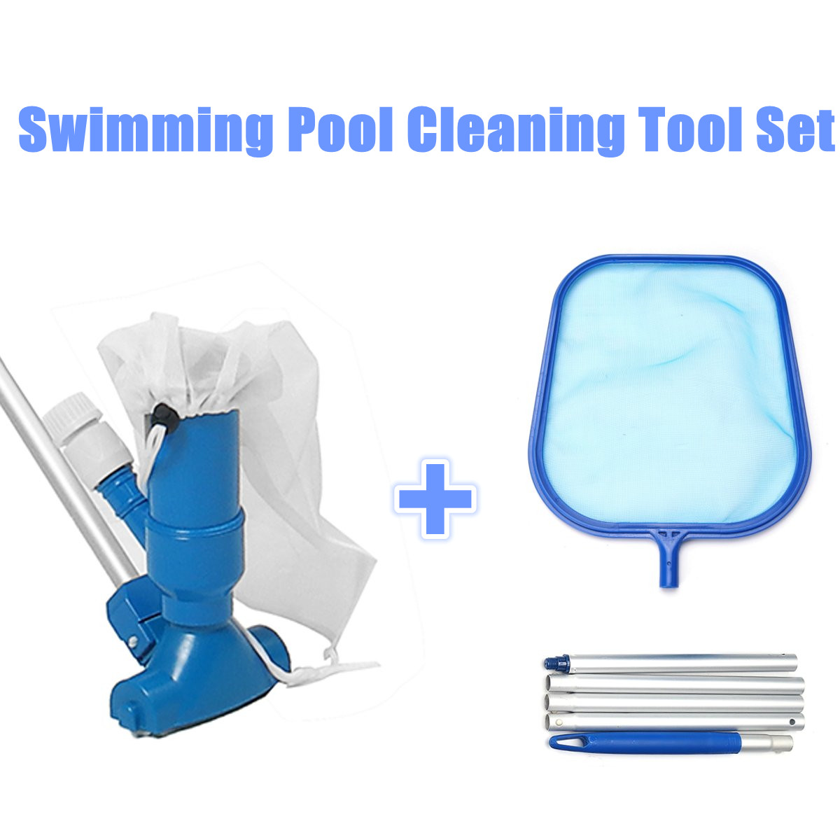 Big Offer #8549 - Swimming Pool Vacuum Cleaning Tool Set ...