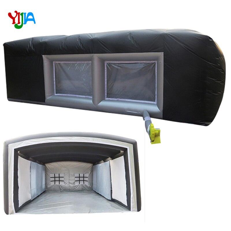 Nouvelle cabine de peinture gonflable portative de conception utilisée cabine de pulvérisation gonflable à vendre, voitures gonflables pulvérisant le stationnement de tente de peinture