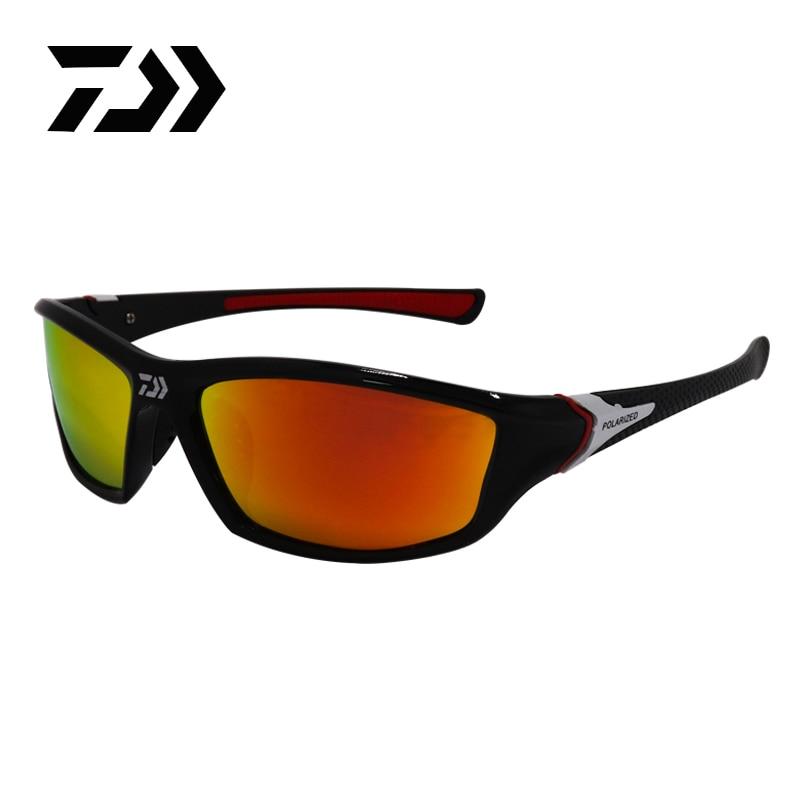 DAIWA occhiali da pesca polarizzati uomo donna occhiali da sole occhiali sportivi da esterno campeggio escursionismo guida occhiali occhiali da sole UV400 1