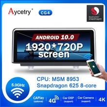 Radio con GPS para coche, reproductor multimedia con Android 10, 4G, Original, sistema NBT, para BMW F30, F20, F31, F22, F21, F32, F33, F36