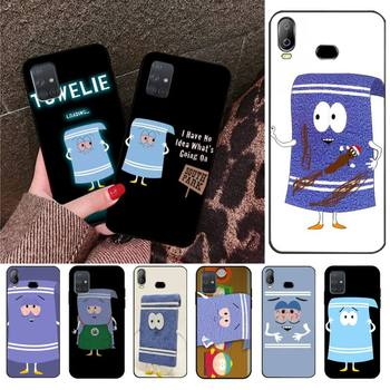 CUTEWANAN New towelie episode Cover Black Soft Shell Phone Case For Samsung A10 A20 A30 A40 A50 A70 A71 A51 A6 A8 2018 image