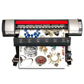printer eco solvente  dx5 plotter large format banner printer xp600 digital poster printing machine dx7 wrap film printer