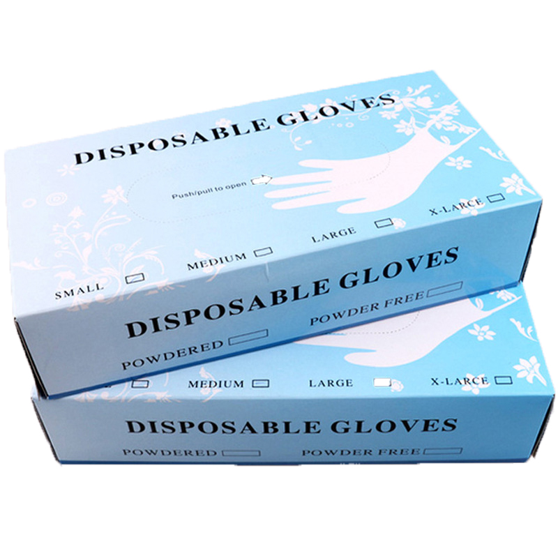 100pcs Transparent Disposable Latex Gloves Anti-Dust Oil Pollution For Home Cleaning /Food/Rubber/Garden Gloves Universal