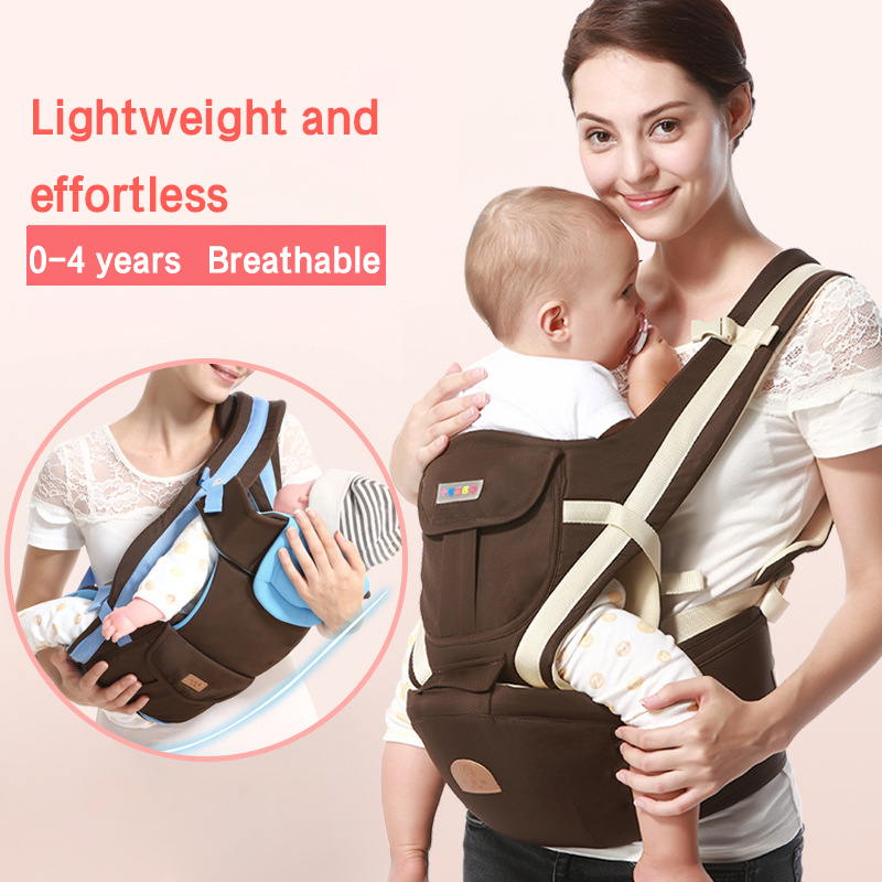 Multifunctional Baby Carrier Front Hold Four Seasons Breathable Style Hold Baby Belt Baby Carrying Waist Stool Child Sitting