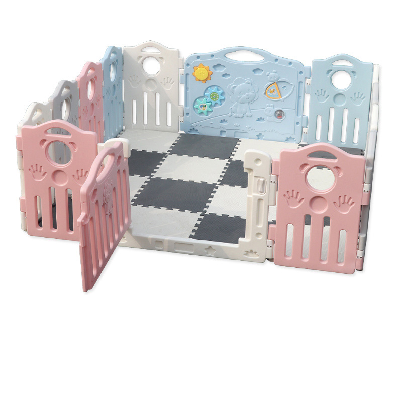 Multi-function Child Safety Fence Safety Toddler Crawling Bar Indoor Home Children's Game Shatter-resistant Fence Widened Height