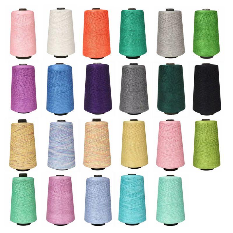 1 Roll 500g Milk Spun Ice Silk Knitting Yarn Summer Crochet Line DIY Top Thread M6CD