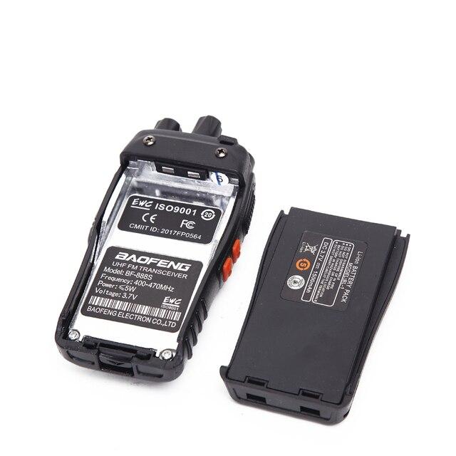 2pcs baofeng bf-888s walkie talkie