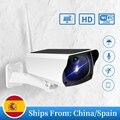 IP Wi-Fi Солнечная камера ИК 1080P HD наружная камера видеонаблюдения для умного дома Беспроводная IP66 Водонепроницаемая Двухсторонняя аудиосвязь