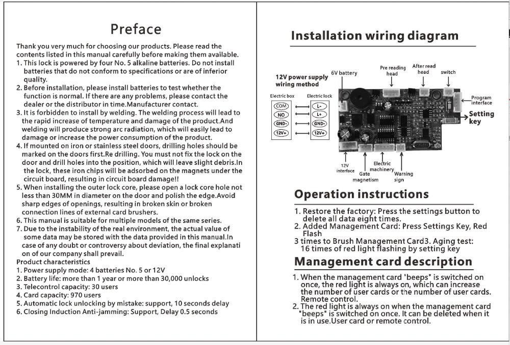 H7c9d8c18fb2a4447a45534d4c5b4beb3Q AA Dry Battery Easy Install Smart Lock RFID Electronic Locker Door Lock Wireless Rfid Electronic Battery Proximity Card Lock