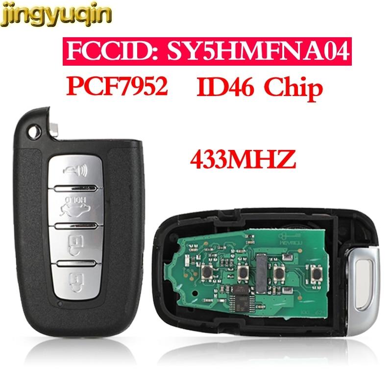 Jingyuqin Remote Key 433MHZ ID46 For Kia Rio Forte Soul Borrego Sorento Optima Hyundai I30 IX35 Sonata Genesis Equus Veloster Car Key Automobiles & Motorcycles - title=