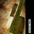 59HRC PSRK нож 14C28N лезвие МИКАРТА ручка фиксированный нож Открытый Кемпинг Инструмент Выживания Охотничий Тактический нож универсальный инстр...