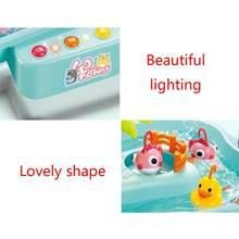 Детские водные игрушки рыболовная платформа электрическая музыкальная