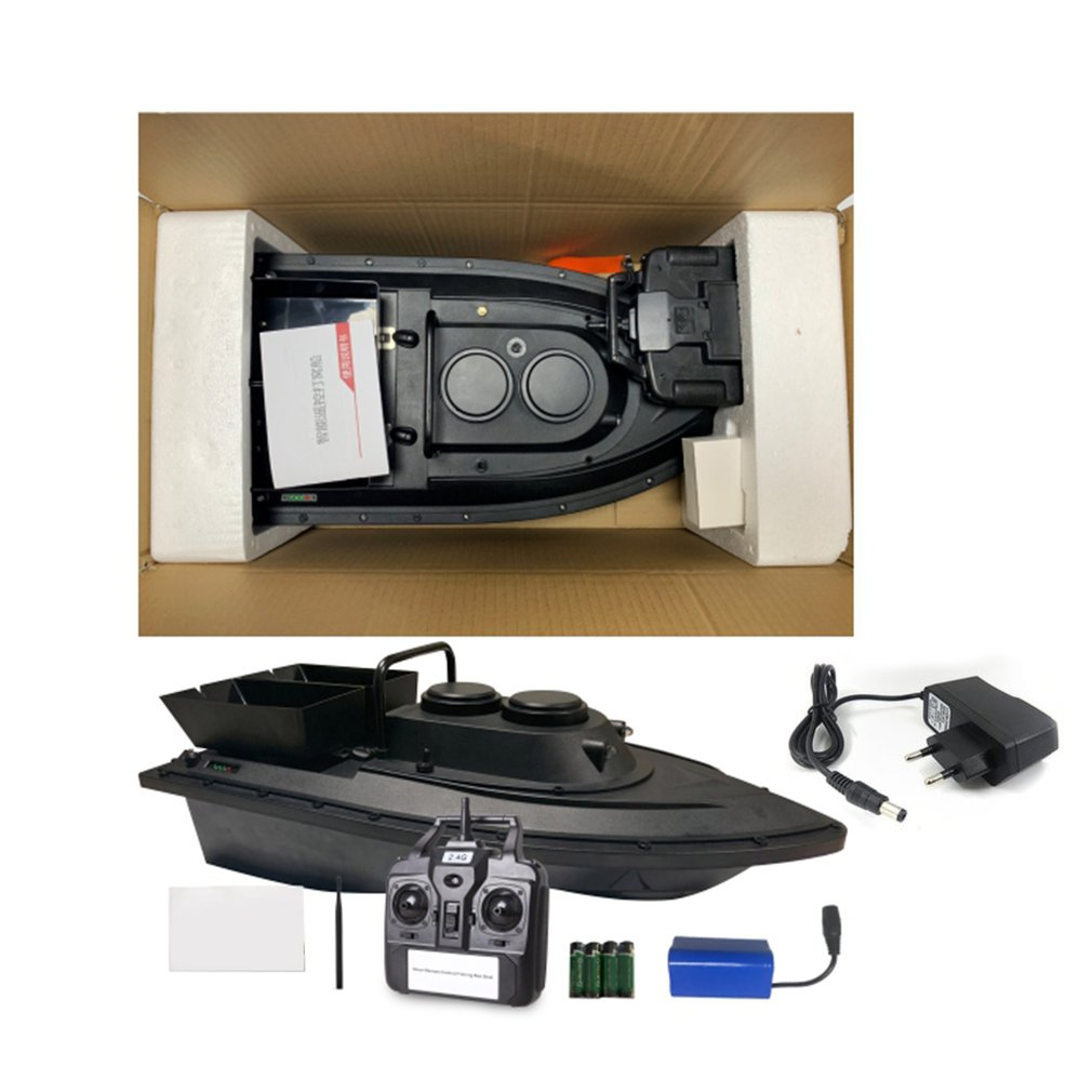 D11 Smart RC Bait Boat Toys Dual Motor Fish Finder Ship Boat Remote Control 500m Fishing Boats Speedboat Fishing Tool Model Toy