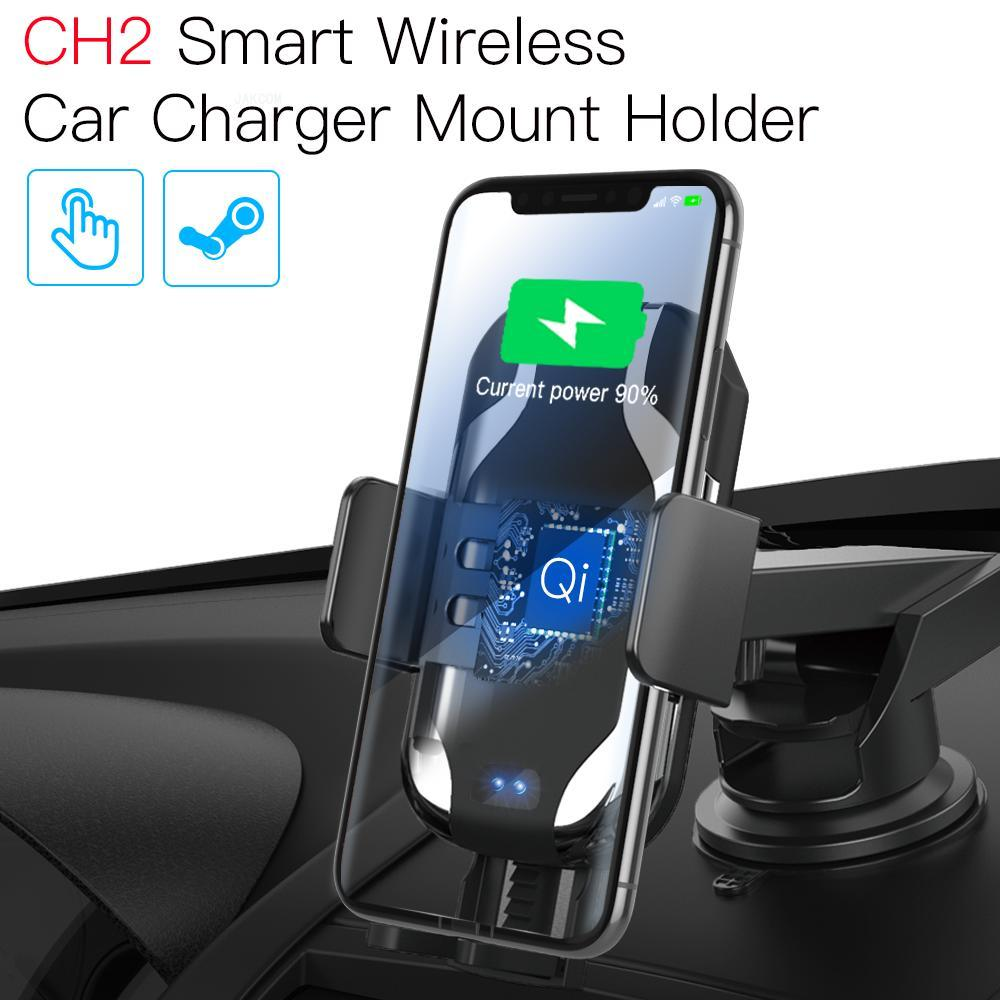 JAKCOM CH2 Smart Wireless Car Charger Holder Hot Sale In Mobile Phone Holders Stands As Car Magnet Phone Holder Telefon