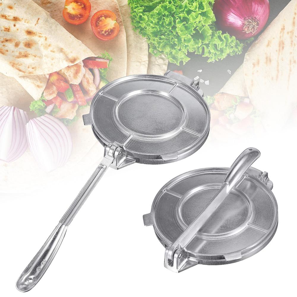 8-inch Tortilla Noodle Presser Aluminum Alloy Health and Environmental Protection Making Tortillas and Omelettes 30P