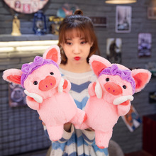 Stuffed Animals & Plush Cute Long Haired Pig Dolls & Accessories Cloth Baby Pig Pillow Baby Plush Classic Toys Doll Baby Toy baby pig pig walks