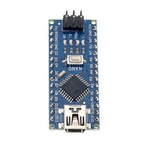 Image 4 - จัดส่งฟรี! 100PCS NANO 3.0 คอนโทรลเลอร์ NANO CH340 USB DRIVER NO CABLE NANO V3.0