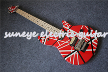 Hot Sale Wolfgang Style EVH Electric Guitar Maple Fretboard Guitarra Electrica DIY Kit Custom Available