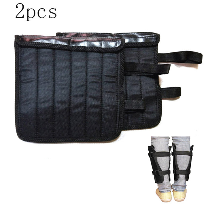 2Pcs Adjustable Ankle Legging Sandbags 1-5kg Weight Sport Running Equipment Training for Leg Boxing &T8
