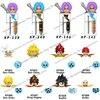 KF6057 KF6142 KT1020 Single Sale Dragon Ball Z Goku Building Blocks Anime Collect dolls Kid mini Action Toy Figures Bricks Gifts
