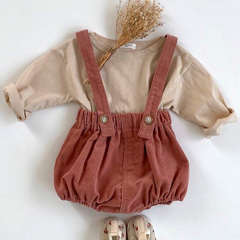 Baby Boy Kleidung Set Herbst Langarm T Shirt Und Denim Overalls Baby Strap Overall Outfits Neugeborenen Baby Mädchen Kleidung set