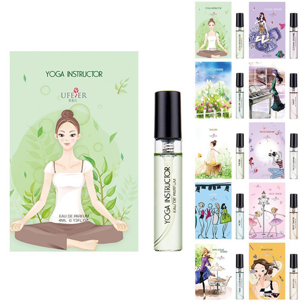 10 Type 4ml Women Perfume Deodorant Fragrance Atomizer Perfum Refreshing Elegant Long-lasting Flower Spay Romatic Aromatic E5J2