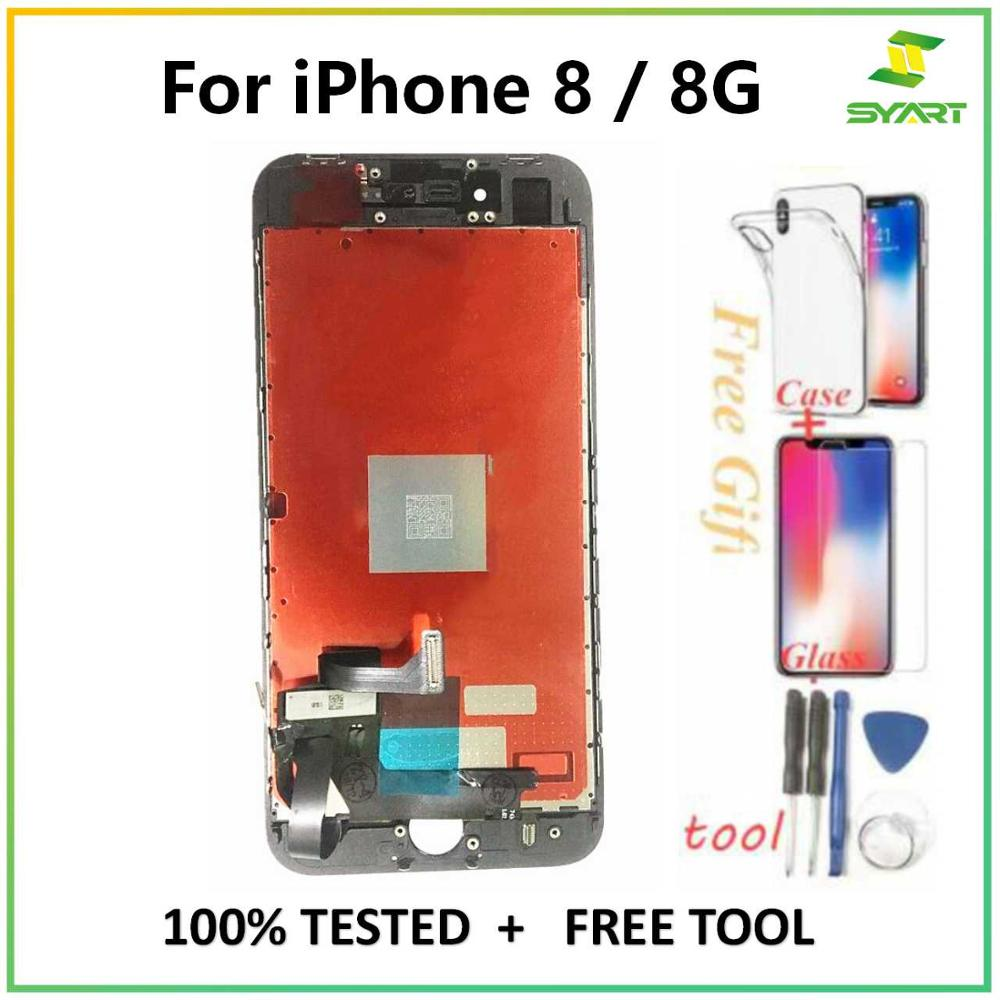 Assembly Digitizer Touch-Screen 8plus-Display iPhone8 for Aaa-Quality Lcds Lcds