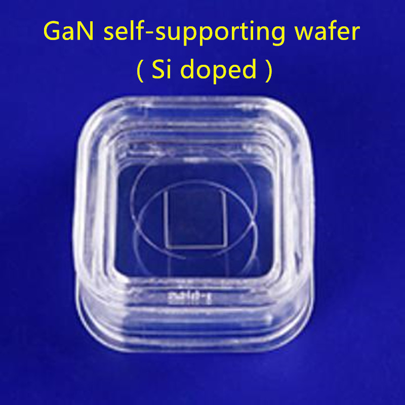 10 × 10.5mm² GaN self-supporting wafer ( Si doped )