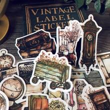 Muebles Vintage aparatos antiguos máquinas de escribir materiales pegatinas DIY creativo diario basura foto decoración de colección de recortes pegatinas