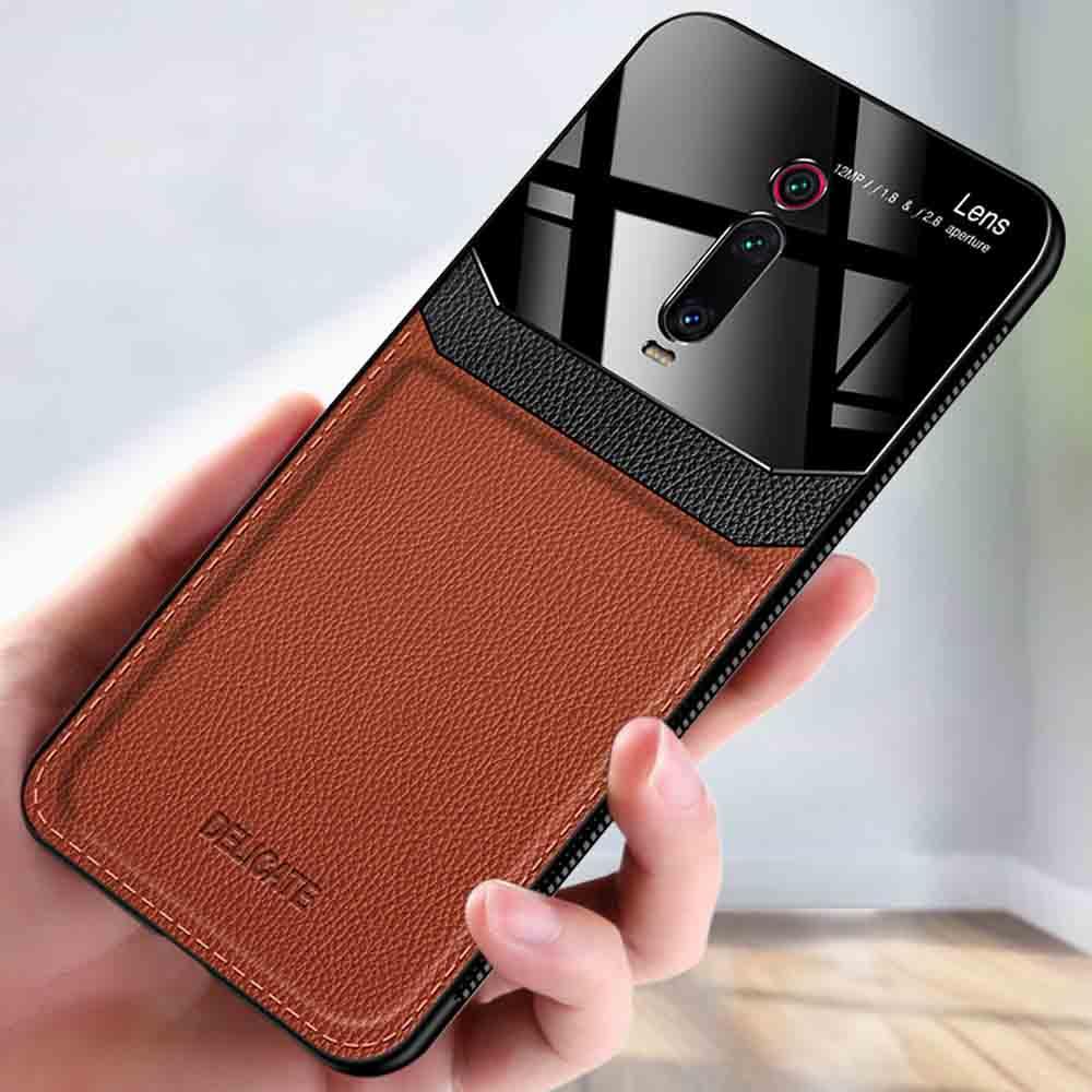 For Xiaomi Mi 9T Pro case Luxury Shockproof Redmi K20 K30 pro case Mi CC9 pro bumper leather case Redmi Note 9S 8T 7 pro cover