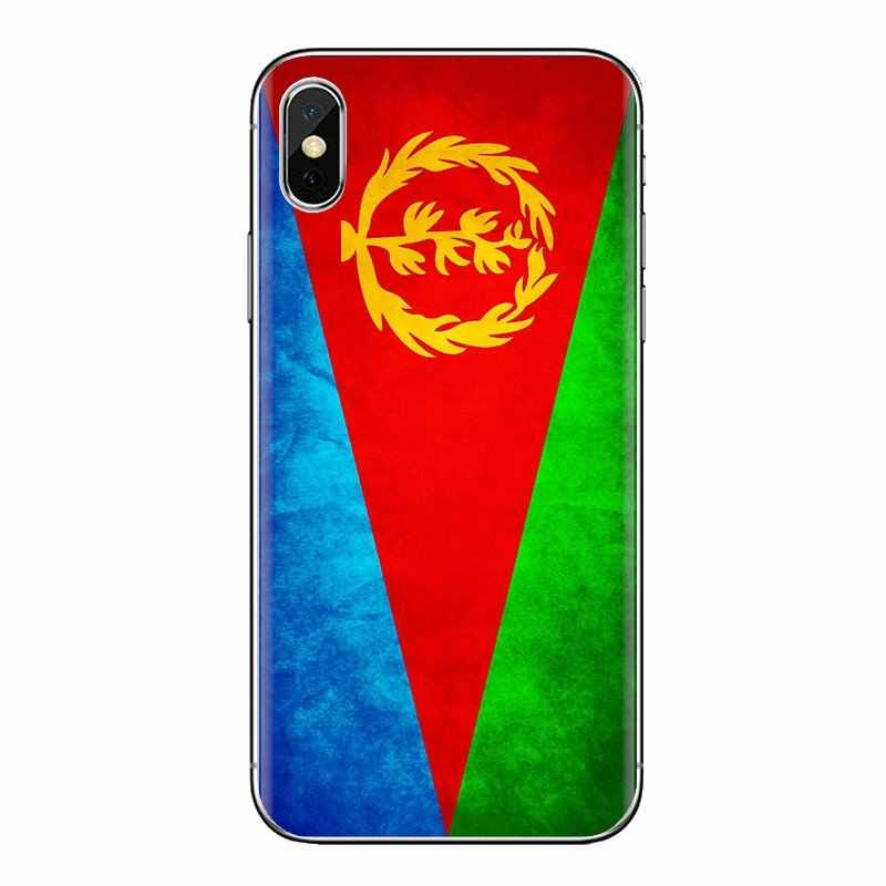 Eritrea Flag world บินแบนเนอร์สำหรับ Xiaomi Mi3 Samsung A10 A30 A40 A50 A60 A70 Galaxy S2 หมายเหตุ 2 Grand core Prime TPU ผิว