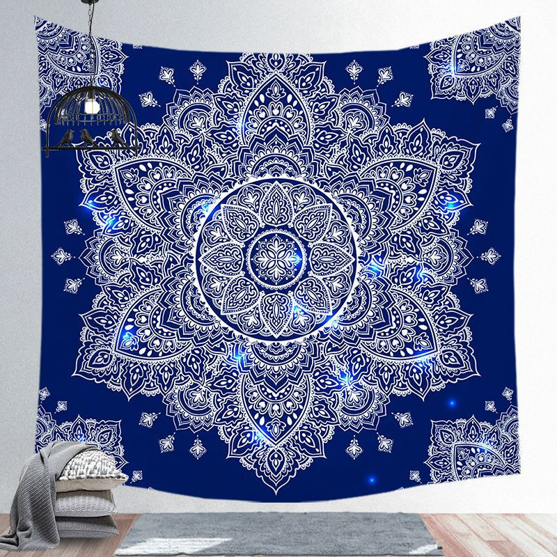 Image 3 - Indian Mandala Tapestry Wall Hanging Beach Blanket Hippie  Tapestry Home Decorative Bohemian Decorative Wall MatsTapestry   -