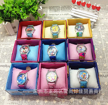 Popular Children Watches Disney Frozen 2 Child Wrist Watch Cartoon Princess Elsa Kids Sofia Watch Girls Gift Boys Party Toys