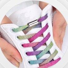 Lacets élastiques unisexes, 1 paire, sans nœuds, pour chaussures de sport, pour enfants et adultes, taille adaptée à toutes les chaussures