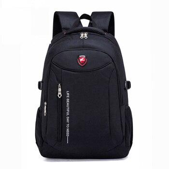 цена 2019 New Fashion Men school Backpack soft bag Leather Male Luxury Casual Travel Waterproof Backpack Large Capacity Laptop Bags онлайн в 2017 году