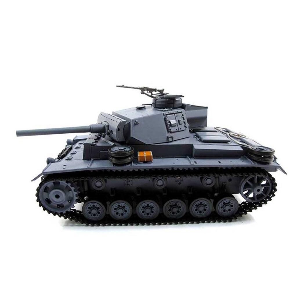 Metal Machine Gun For MATO 1/16 RC Tank German Panzer III Cupola Upgrade Parts