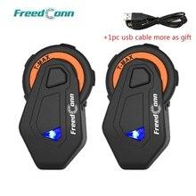 FreedConn T max Motorrad Helm Intercom 6 Fahrer Bluetooth 4,1 Headset mit FM Radio Moto Intercomunicador