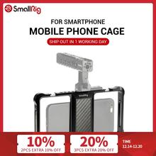 SmallRig Standard Universal Mobile Phone Cage Mobile Phone Holder For Vlogging Vlog Video Rig 2391