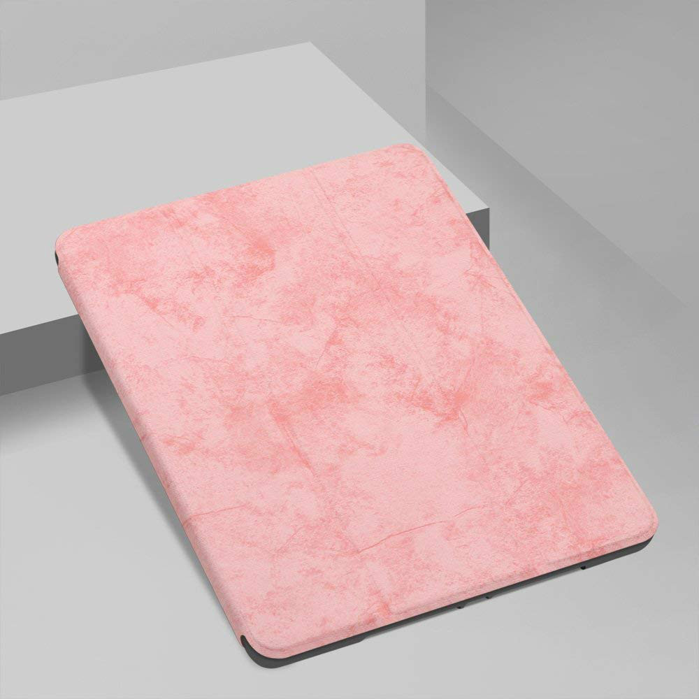 for iPad 12.9 Pink Pink For iPad Pro 12 9 2020 Case Pencil Holder Smart Trifold Case Cover Auto Sleep Wake