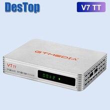2020 جديد GTMEDIA v7 TT مستقبل التلفاز DVB T2 DVB S الرقمية واي فاي صندوق التلفزيون استقبال الأسهم الآن