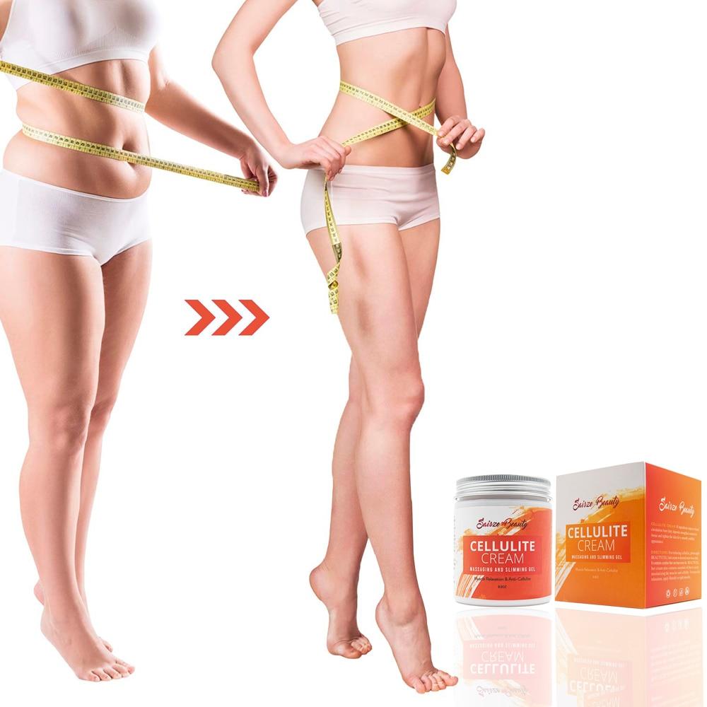250g Drop shipping Cellulite Slimming Cream Hot Massage Leg Skin Relax Cream Adipose Massage Weight Burning Loss 4