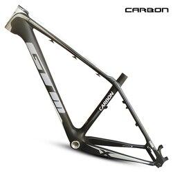 마지막 브랜드 1120g 새로운 mtb 탄소 프레임 26er 산악 자전거 프레임 17 ''bicicletas 산악 자전거 29 무료 배송 mtb 자전거 프레임
