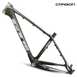 Last brand 1120g new mtb carbon frame 26er mountain bikes frame 17'' bicicletas mountain bike 29 free shipping MTB bike frame(China)