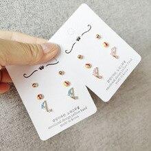 Korean Little Cute Cartoon Dolphin Balloon Simple Woman Girls Stud Earrings Fashion Jewelry Holiday-JQD5-W2